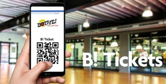 """NEU! Eintrittskarten für Bothe-Events im """"B! Tickets""""-Shop"""