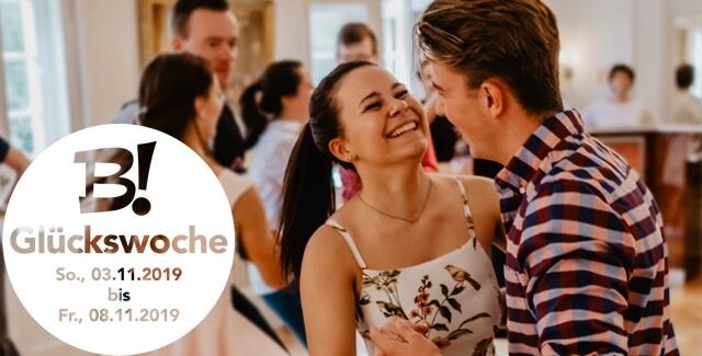 Glückswoche 03.11. – 08.11.19: kostenloses Tanzvergnügen